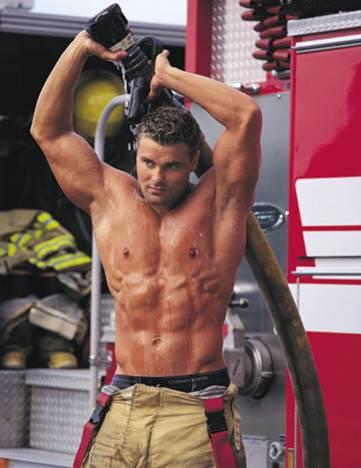 Naked male fireman calendar can not