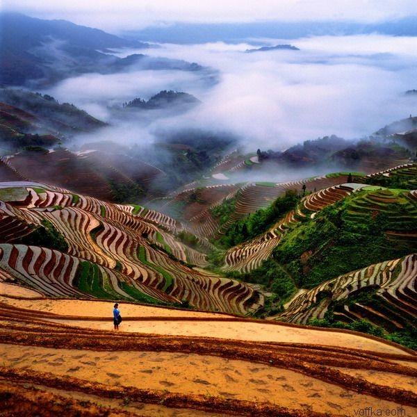 fond d'écran paysage de Chine